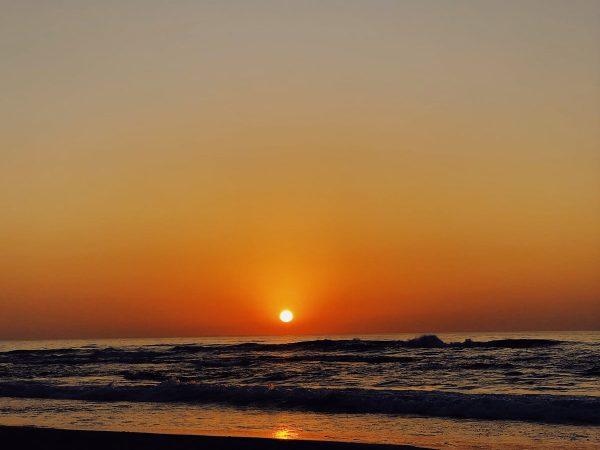 Oh ja.  Die Sonnenuntergänge in  sind einfach zum Verlieben….