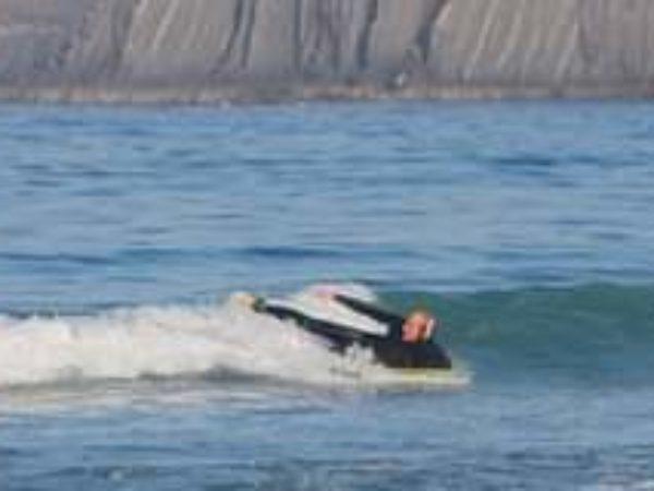 Bei kleinen Wellen kann man es auch mal gemütlicher angehen …