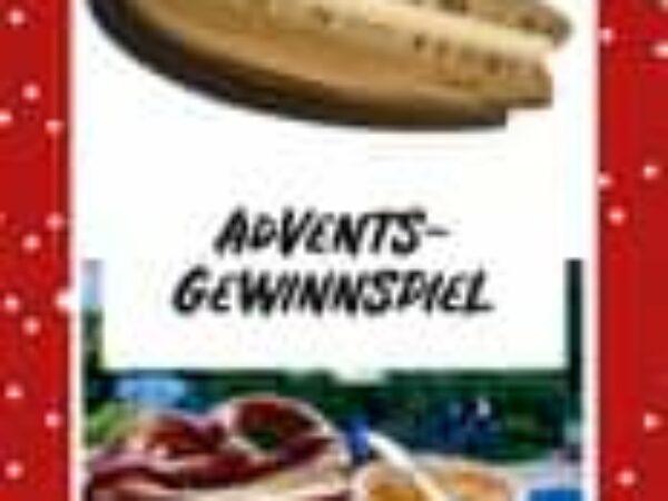 IG – ADVENTS-GEWINNSPIEL  Schluss mit langweiligen Brotzeit…